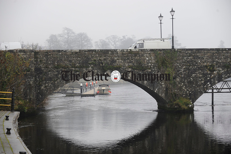 A view of the bridge over the Shannon at Killaloe. Photograph by John Kelly.