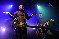 LONDON, ENGLAND - MARCH 10: Craig Finn and Tad Kubler of 'The Hold Steady' performing at Electric Ballroom, Camden on March 10, 2018 in London, England.<br /> CAP/MAR<br /> &copy;MAR/Capital Pictures