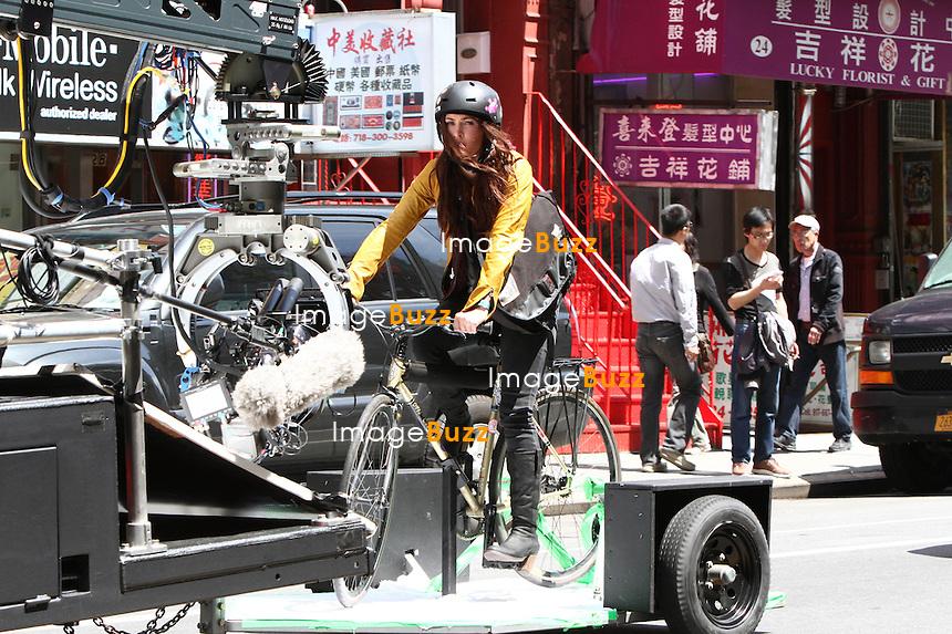 "Megan Fox on the set of "" Teenage Mutant Ninja Turtles "" in New York City. New York, May 10, 2013."