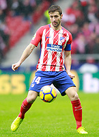 Atletico de Madrid's Gabi Fernandez during La Liga match. January 6,2018. (ALTERPHOTOS/Acero) /NortePhoto.com NORTEPHOTOMEXICO