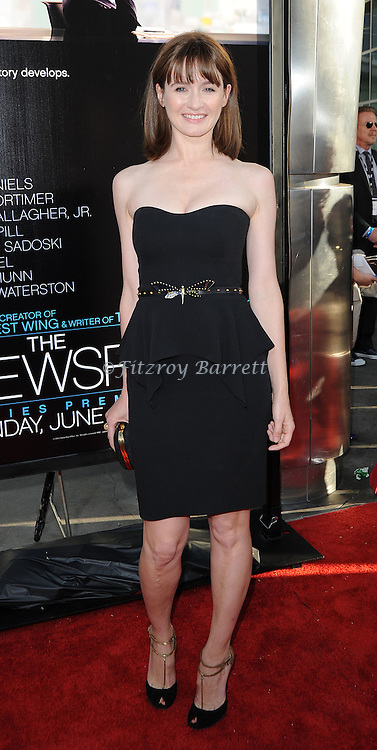Emily Mortimer at the Los Angeles premiere of the new HBO series The Newsroom, held at the Cinerama Dome Los Angeles, CA. June 20, 2012