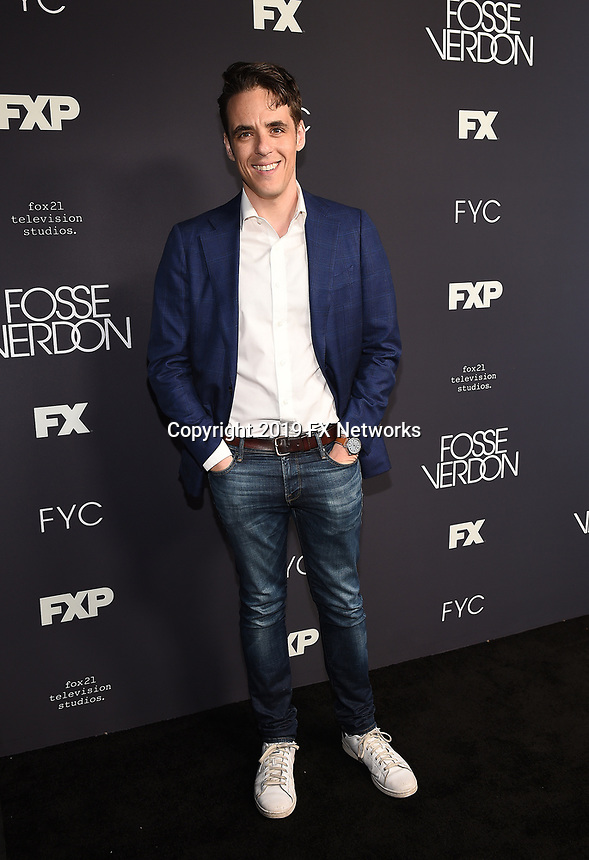 """LOS ANGELES - MAY 30: Writer/Executive Producer Steven Levenson attends the FYC Event for Fox 21 TV Studios & FX's """"Fosse/Verdon"""" at the Samuel Goldwyn Theater on May 30, 2019 in Los Angeles, California. (Photo by Frank Micelotta/FX/PictureGroup)"""