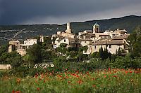 Europe/France/Provence-Alpes-Côte d'Azur/84/Vaucluse/ Lourmarin: le village