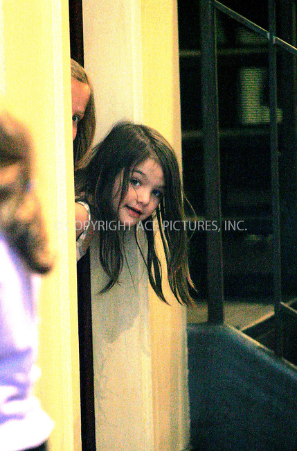WWW.ACEPIXS.COM . . . . .  ....April 5 2010, New York City....Suri Cruise out with her nanny on April 5 2010 in New York City....Please byline: NANCY RIVERA- ACEPIXS.COM.... *** ***..Ace Pictures, Inc:  ..Tel: 646 769 0430..e-mail: info@acepixs.com..web: http://www.acepixs.com