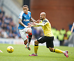 James Tavernier and Hugo Faria