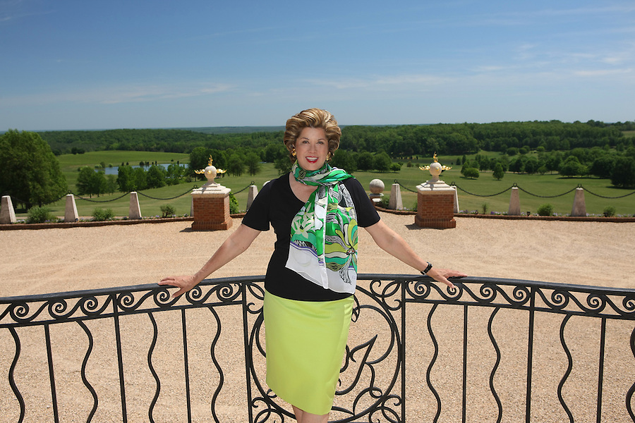 Patricia Kluge photographed at her Albemarle Estate located in Albemarle County, Va. (Credit Image: © Andrew Shurtleff)..