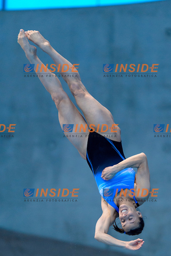 Tania CAGNOTTO ITA Italy Gold Medal <br /> Women's 3m Springboard Final <br /> London, Queen Elizabeth II Olympic Park Pool <br /> LEN 2016 European Aquatics Elite Championships <br /> Diving  <br /> Day 06 14-05-2016<br /> Photo Andrea Staccioli/Deepbluemedia/Insidefoto