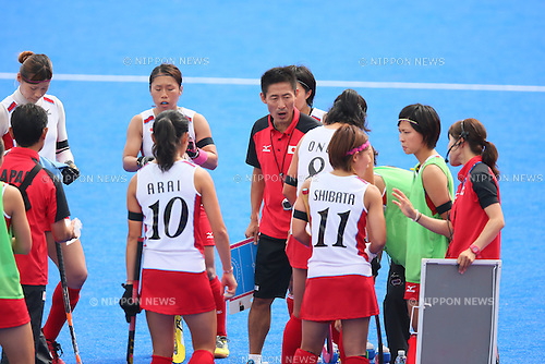 Yu Seung-Jin (JPN), <br /> SEPTEMBER 26, 2014 - Hockey : <br /> Women's Preliminary <br /> between Kazakhstan Women's 0-8 Japan Women's <br /> at Seonhak Hockey Stadium <br /> during the 2014 Incheon Asian Games in Incheon, South Korea. <br /> (Photo by YUTAKA/AFLO SPORT)