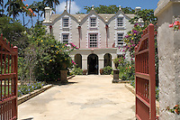 St. Nicholas Abbey, built in the 1650s and the oldest house in Barbados, it is one of only three Jacobean plantation  houses left standing in all of the Americas.