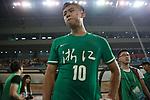 07.09.2017, Stadion, Tianjin, CN. 13. Nationalen Chinesischen Fussballspielen, Zhejiang vs Shangai, im Bild , <br /> <br /> <br /> im Bild Yuning Zhang (Werder Bremen #19) im Finale im grünen Trikot - nach dem Spiel enttäuscht / enttaeuscht / traurig <br /> <br /> Foto © nordphoto / Oscar <br /> <br /> ++++ Attention ++++ ALL RIGHTS RESERVED Kein -Facebook -Twitter -Instagram -Social Media Web, keine online Galerie Pauschale,  Honorar und Belegexemplar Star People