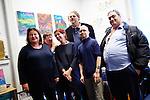 15.10.2015, Berlin. Neujahrsempfang der ZWST im Künstleratelier/Behindertenwerkstatt OMANUT.
