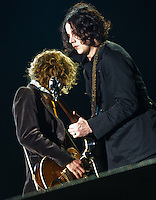 The Raconteurs at the 2011 Voodoo Festival in New Orleans, LA.