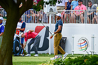 Jason Day (AUS) watches his tee shot on 10 during Saturday's round 3 of the World Golf Championships - Bridgestone Invitational, at the Firestone Country Club, Akron, Ohio. 8/5/2017.<br /> Picture: Golffile | Ken Murray<br /> <br /> <br /> All photo usage must carry mandatory copyright credit (&copy; Golffile | Ken Murray)