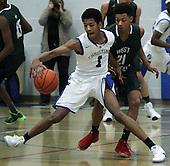 West Bloomfield at Southfield Christian, Boys Varsity Basketball, 1/24 17