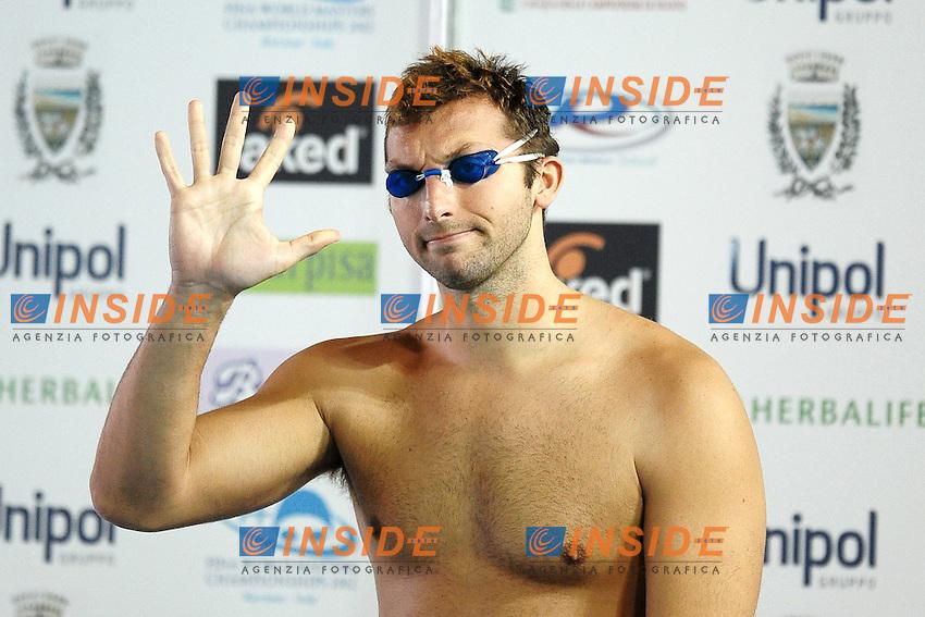 Ian THORPE Australia 100m Freestyle.Riccione 17/12/2011 Stadio del Nuoto.Campionati Italiani Invernali Assoluti Open di Nuoto.Foto Insidefoto Andrea Staccioli