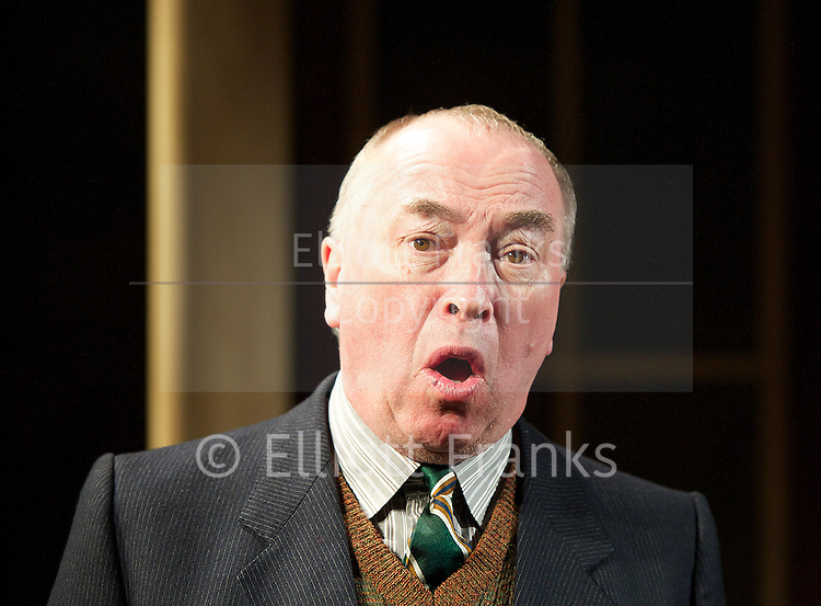 Travels with My Aunt <br /> by Giles Havergal <br /> directed by Christopher Luscombe<br /> at The Menier Chocolate Factory <br /> London, Great Britain <br /> Press Photocall <br /> 7th May 2013 <br /> <br /> Jonathan Hyde<br /> <br /> David Bamber<br /> <br /> Iain Mitchell<br /> <br /> Gregory Gudgeon <br /> <br /> Photograph by Elliott Franks