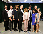 John Treacy Egan, Kevin Zak, Judy Gold, Tom Galantich, Kerry Butler, Duke Lafoon, Veronica Kuehn, Dale Hensley and Gretchen Wylder during the 'Clinton The Musical' - Sneak Peek at Ripley Grier Studios on March 4, 2015 in New York City.