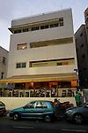 Israel, Tel Aviv. Krieger house on Rothschild Boulevard, a Bauhaus style building