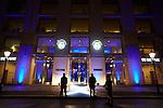 4.11.2015, Berlin. Axica Congress-Zentrum. Verleihung des Leo-Beck-Preises 2015 an Volker Beck, Laudatio durch Frank-Walter Steinmeier (Außenminister) (Photo by Gregor Zielke)