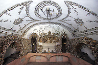 La Cripta dei Cappuccini nella Chiesa di Santa Maria della Concezione dei Cappuccini a Roma.<br /> The Capuchin Crypt and ossuary of the Our Lady of the Conception of the Capuchins' church in Rome.<br /> UPDATE IMAGES PRESS/Riccardo De Luca