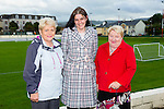 Pictured at the Tralee Dynamos Mass in the Low Field on Friday were l-r Maisie Houlihan, Nora Cahill and Mary Lynch