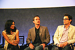 """Guiding Light's Matt Bomer """"Ben Reade"""" and now """"Neal Caffrey on USA's White Collar and cast: (L to R) Marsha Thomason """"Diana"""", Tim DeKay """"Peter Burke"""" were a part of White Collar Comes Clean at the Paley Center for Media, New York City, NY on June 7, 2010. (Photo by Sue Coflikn/Max Photos)"""
