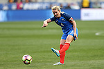 CHESTER, PA - MARCH 01: Amandine Henry (FRA). The England Women's National Team played the France Women's National Team as part of the She Believes Cup on March, 1, 2017, at Talen Engery Stadium in Chester, PA. The France won the game 2-1.