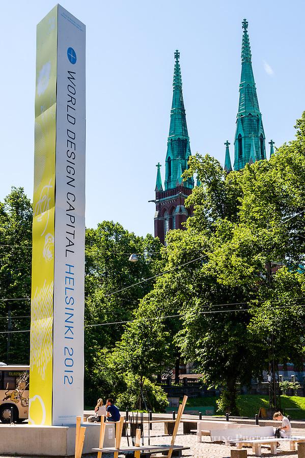 Finland, Helsinki. St. John's Church.