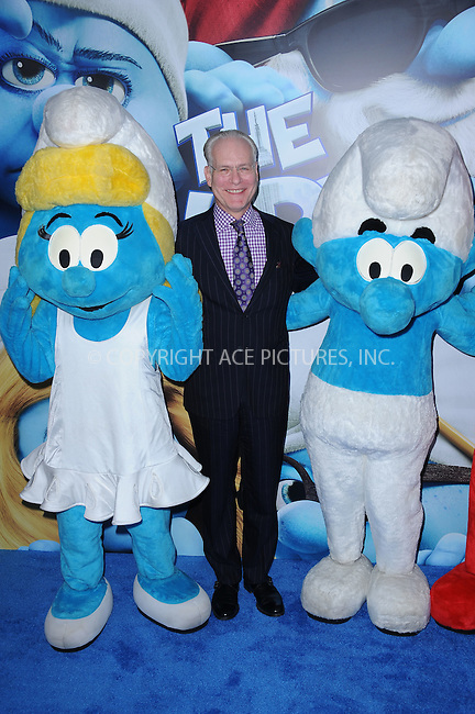 WWW.ACEPIXS.COM . . . . . .July 24, 2011...New York City....Tim Gunn attends the premiere of 'The Smurfs' at the Ziegfeld Theater on July 24, 2011 in New York City....Please byline: KRISTIN CALLAHAN - ACEPIXS.COM.. . . . . . ..Ace Pictures, Inc: ..tel: (212) 243 8787 or (646) 769 0430..e-mail: info@acepixs.com..web: http://www.acepixs.com .