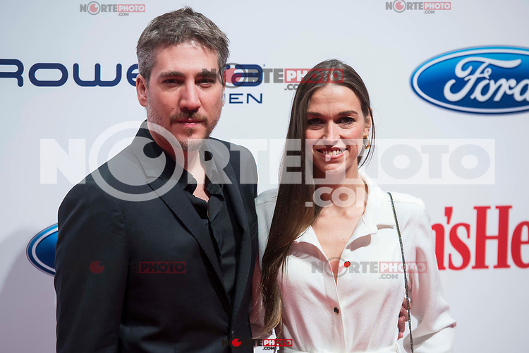 Alberto Ammann and Clara Mandez attends to Men's Health awards 2017 photocall at Goya Theater in Madrid, Spain. November 20, 2017. (ALTERPHOTOS/Borja B.Hojas) /NortePhoto.com