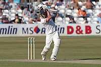 Tom Westley hits 4 runs for Essex during Essex CCC vs Somerset CCC, Specsavers County Championship Division 1 Cricket at The Cloudfm County Ground on 25th June 2018