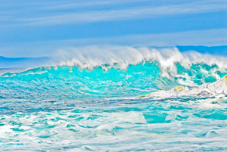 Awesome waves in Monterey Bay.