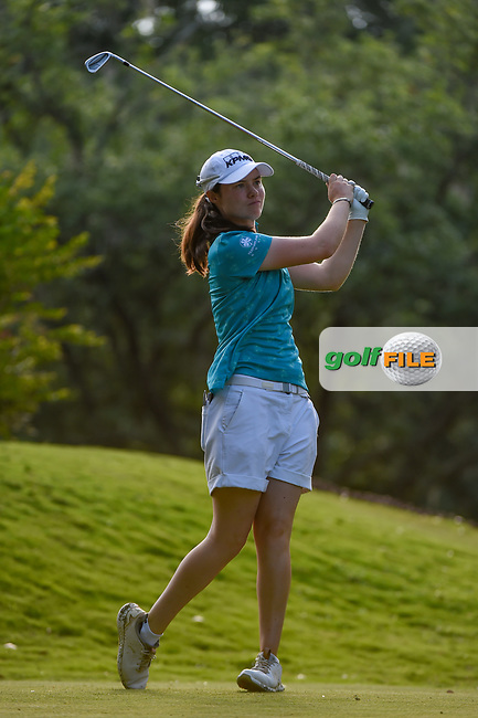 Leona Maguire (IRL) watches her tee shot on 11 during round 2 of the 2019 US Women's Open, Charleston Country Club, Charleston, South Carolina,  USA. 5/31/2019.<br /> Picture: Golffile   Ken Murray<br /> <br /> All photo usage must carry mandatory copyright credit (© Golffile   Ken Murray)