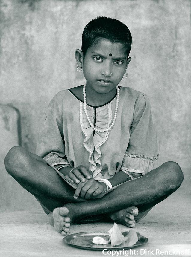 Junge in Kalkutta, Indien 1974