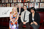 Megan Hilty,  Jano Herbosch, Justin Long, Raven-Symone.attending the Announcements for the 2012 Drama League Nominations held at Sardi's on 4/24/2012 in New York City. © Walter McBride / Retna Ltd.