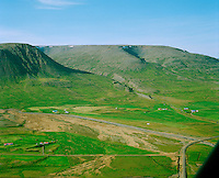 Nautabú, séð til suðurs,  Hólahreppur /.Nautabu, viewing south, Holahreppur