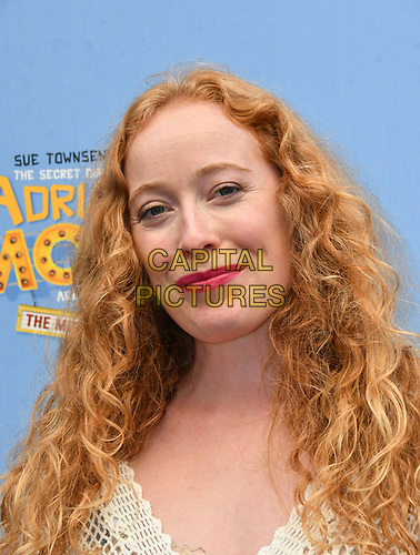 Victoria Yeates attends The Secret Diary Of Adrian Mole Aged 13 ¾ musical adaptation of Sue Townsend's comic fiction which opens in Adrian's 50th birthday year and follows the daily dramas and misadventures of the teenager's adolescent life, at Ambassadors Theatre, London, England on July 02, 2019.<br /> CAP/JOR<br /> ©JOR/Capital Pictures