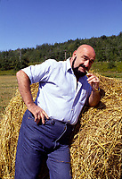 Undated File Photo circa 1986 - EXCLUSIVE -<br /> <br />  Former wrestler Maurice '' Mad Dog'' Vachon exclusive photoshoot near his home south of Montreal, before his 1987 accident when he lost a leg.<br /> <br /> Vachon died  November 21, 2013.