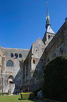 Europe/France/Normandie/Basse-Normandie/50/Manche: Baie du Mont Saint-Michel, classée Patrimoine Mondial de l'UNESCO, Le Mont Saint-Michel // Europe/France/Normandie/Basse-Normndie/50/Manche: Bay of Mont Saint Michel, listed as World Heritage by UNESCO,  The Mont Saint-Michel