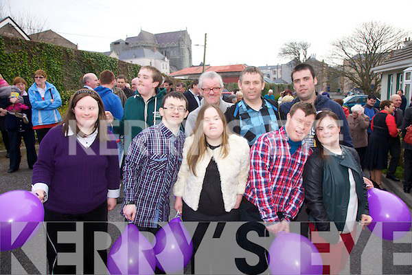 Pictured at the official opening of the Cunamh Iveragh Centre in Cahersiveen on Tuesday evening last were front l-r; Aoife Murphy, Patrick O'Sullivan, Ellen O'Donoghue, Diarmuid O'Connell, Fiona O'Neill, back l-r; James Moriarty, John James Casey, Earl Leahy & Brendan O'Sullivan.