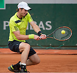 Andy Murray (GBR) takes the first two sets against Marinko Matosevic (AUS)