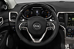Car pictures of steering wheel view of a 2018 Jeep Grand-Cherokee Summit 5 Door SUV