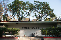 Photo of the Treehouse academic building, November 21, 2012.<br /> (Photo by Marc Campos, Occidental College Photographer)