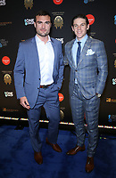 08 March 2019 - Las Vegas, NV - William Carrier, Erik Haula. 2019 One Night for One Drop blue carpet arrivals at Bellagio Las Vegas. Photo Credit: MJT/AdMedia