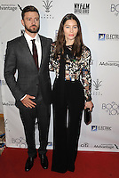 www.acepixs.com<br /> <br /> Janaury 10 2017, LA<br /> <br /> Actress Jessica Biel and Justin Timebrlake arriving at the premiere of 'The Book Of Love' at The Grove on January 10, 2017 in Los Angeles, California<br /> <br /> By Line: Peter West/ACE Pictures<br /> <br /> <br /> ACE Pictures Inc<br /> Tel: 6467670430<br /> Email: info@acepixs.com<br /> www.acepixs.com