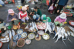 Straßenmarkt in Danang, Vietnam