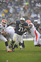 29 October 2011:  Penn State DT Devon Still (71)..The Penn State Nittany Lions defeated the Illinois Fighting Illini 10-7 to at Beaver Stadium in State College, PA..