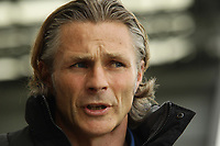 Gareth Ainsworth Manager of Wycombe Wanderers during the Sky Bet League 2 match between Morecambe and Wycombe Wanderers at the Globe Arena, Morecambe, England on 29 April 2017. Photo by Stephen Gaunt / PRiME Media Images.