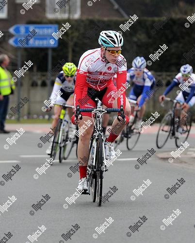 2012-03-03 / Wielrennen / seizoen 2012 / Nieuwelingen / Jason Seymus, Antwerpen..Foto: Mpics.be