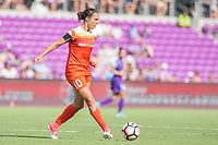 Orlando, FL - Saturday June 24, 2017: Carli Lloyd during a regular season National Women's Soccer League (NWSL) match between the Orlando Pride and the Houston Dash at Orlando City Stadium.